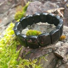 BLACK TOURMALINE Grounding Bracelet Crystal Stone Mineral Healing Protection