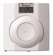 Drayton Digistat+ RF Wireless Digital Room Stat RF601 Thermostat (No Receiver)
