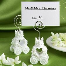 6 x Cinderella Royal Coach design Table Name place card holders  Ideal Wedding