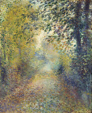 """RENOIR – In the woods – 11""""x14"""" - FINE ART PRINT – FREE SHIPPING"""
