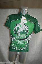 MAILLOT  VELO CM NEUF TAILLE M/3 NATURE GREEN CYCLISME/BIKE JERSEY /MAGLIA TOUR