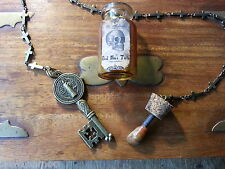 Bizarre Magick PK Magnet Dead Man's Tooth Pendulum Ouija Spirit Vial Magic trick