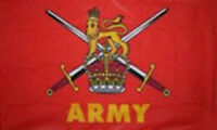 3' x 2' ARMY FLAG British Armed Forces Military Flags