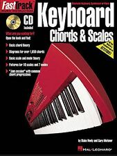 Fast Track Keyboard Chords & Scales Learn to Play Beginner Music Book & CD TUTOR