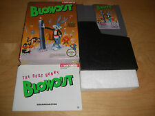The Bugs Bunny Blowout NES Spiel komplett mit OVP und Anleitung