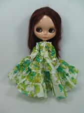 Blythe Outfit Handcrafted long sleeve dress basaak doll # 790-66