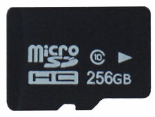 256GB Micro SD HC Card with FREE Adapter 10 Class Universal TF Flash Memory Card