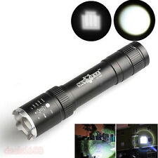 2500 Lumens Zoomable CREE XML T6 LED Flashlight 18650 Torch Portable Lamp Light