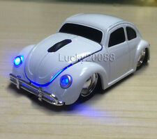 USB wireless Volkswagen VW Beetle Car Mouse Mice 2.4G Optical for Laptop PC MAC