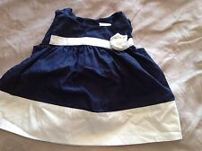 New W/t Tags White Top/ Dress by Gymboree in size age 6 to 12 Months