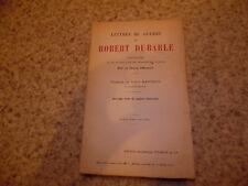 1918.Lettres de guerre.Guerre 14-18.Dubarle Robert