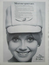 2/1970 PUB UNITED AIRLINES HOTESSE DE L'AIR STEWARDESS ORIGINAL AD