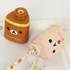 1x Cute Rilakkuma Automatic Eletric Pencil Sharpener School Office Supply San-x