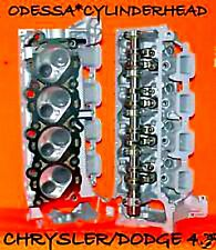 2 CHRYSLER DODGE JEEP CHEROKEE DAKOTA 4.7 SOHC CYLINDER HEADS REBUILT