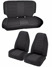 Smittybilt Custom Fit Front & Rear Neoprene Seat Covers 97-02 Jeep Wrangler TJ