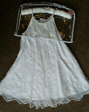 M & S girls party dresse size 7-8yrs