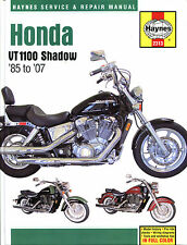Haynes Manual 2313 - Honda Shadow VT1100 (USA) (85 - 07) workshop/service/repair