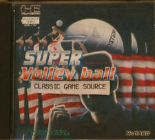 Super volley ball  game for PC Engine Hu Card complete