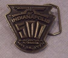 81st Indianapolis 500 Aurora by Oldsmobile Belt Buckle