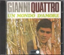 """GIANNI MORANDI - RARO CD FUORI CATALOGO """" UN MONDO D'AMORE """""""