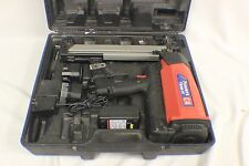 Powers Trak-It C4  Gas Fastening Nail Gun With Charger, Case and 2 Batteries