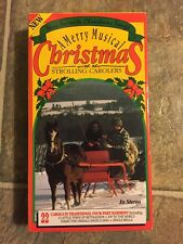 A Merry Musical Christmas With The Strolling Carolers-vhs- Rare