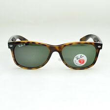 RAY BAN New Wayfarer 2132 rb2132 902/58 Tortoise Frame  Polarized Lenses 55mm