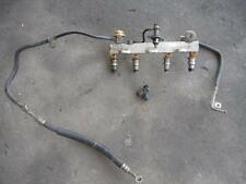 1987-1989 Toyota MR2 - Fuel Line, Fuel Rail & Injectors - 4AGE Complete As Shown