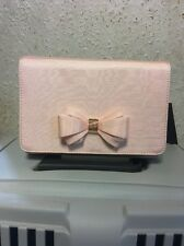 Ted Baker Grosgrain Bow Clutch BABY PINK