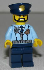 Lego New Police City Officer Prison Island Police Minifigure from Set 60130