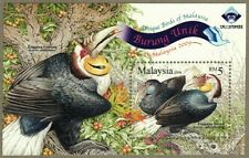 Malaysia 2009 Unique Birds of Malaysia Opt. MSheet
