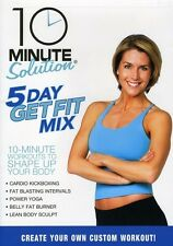 10 MINUTE SOLUTION: 5 DAY GET FIT MIX [DVD NTSC/1 NEW]