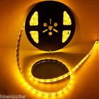 5M 300 Leds Yellow 3528 SMD Flexible LED Strip Light Lamp DC 12V 24W Waterproof