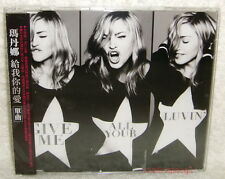 Madonna Give Me All Your Luvin' Taiwan CD w/OBI (MDNA) LMFAO Nicki Minaj M.I.A.