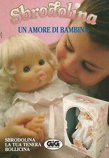 X4289 Sbrodolina un amore di bambina - GIG - Pubblicità 1991 - Advertising