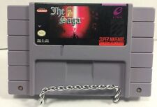 THE 7th SAGA For SUPER Nintendo SNES Tested And Works RPG