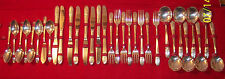 wm rogers manufacturing 1941 triumph silverplate flatware soft case nice 32 pc