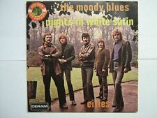 THE MOODY BLUES 45 TOURS BELGIQUE NIGHTS IN WHITE SATIN++
