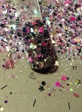 glitter mix nail art acrylic gel  SPARKLE WORKS