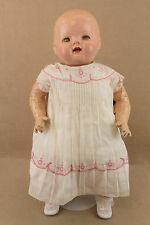 "26"" antique composition cloth 1930s sleepy eye Averill Baby Hendren Doll ""TLC"""
