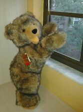 "Hermann Teddy Bear Vintage Rare Original Authentic German  Plush 21"" NWT"