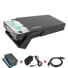 USB 3.0 3.5'' SATA SSD Hard Drive HDD External Caddy Enclosure Case Tool-Free