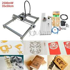 2500mW 35x50cm Desktop Laser Engraving Machine Engraver DIY Marking Logo Printer