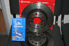 Brembo XTRA Bremsscheiben und Ate Ceramic-beläge  AUDI A4 (B6/B7) vorn 312mm
