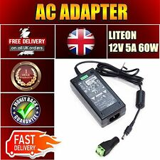 DC 12V 5A 60W Power Supply Adapter UK Plug for 3528 5050 RGB LED Strip Light