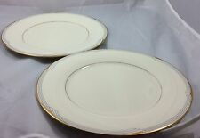Noritake Golden Cove Dinner Plates One Small Discoloration Mark #7719