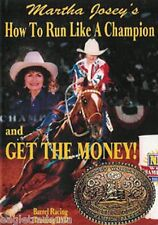 "Martha Josey's How to Run like a Champion and ""Get the Money"" DVD -  Brand New"
