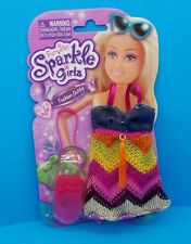 """NEW! FUNVILLE SPARKLE GIRLZ FASHION OUTFIT 12"""" DOLL CLOTHES *~~ DRESS & PURSE"""