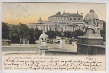 AK Wien I, Hofburgtheater vom Parlament, 1901