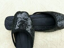 BLACK LADIES INDIAN LEATHER BACKLESS/SLIPPER/WEDDING MULES SIZE 5
